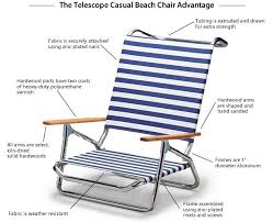 Telescope Beach Chairs Free Shipping by Trendy Telescope Beach Chairs In Furniture Galleries C35 With