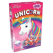 Limited Edition UNICORN Cereal