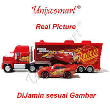 Jual Order Mainan Anak Cars Lightning Mcqueen And Mack Truck -Jb 315 ...