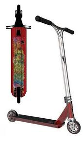 Lucky Covenant Pro Scooter Finished In Red