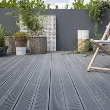 revetement sol exterieur resine leroy merlin planche composite grafik 2 gris ardoise l 240 x l 18 6 cm x ep
