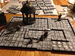 3d Printed Dungeon Tiles by My 2 5d Dungeon Tiles Dm U0027s Craft