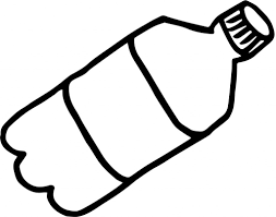 Clipart Black And White cartoon water bottle cartoon water bottle