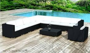 grand canape d angle 12 places salon d angle de jardin canape 12 places cuir 6 7 denver 375x231x180