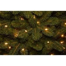 Downswept Douglas Fir 75 Green Slim Artificial Christmas Tree With 600 Pre Lit
