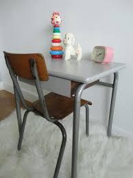 bureau enfant vintage bureau vintage gris bois bureau enfant 50s pupitre bureau