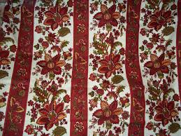 Jacobean Style Floral Curtains by 5 Yards Waverly Fabric Jacobean