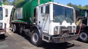 100 Garbage Truck Tab Yard Tour Waste Management Norton Ma YouTube