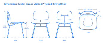 Eames Molded Plywood Dining Chair Dimensions & Drawings | Dimensions ... Lounge Chair New Dimeions By Charles Ray Eames Haus Tremendous Herman Miller Eame Tall And Ottoman Replica 3d Model Fniture On Hum3d Nifty In Stylish Inspiration Interior Lovely D35 On Perfect Inspirational Eames Lounge Chair For Sale Jarboinfo Vitra White Leather And Office Designs