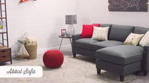 dolphin abbott sofa world market