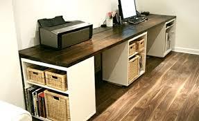 diy l shape studio and computer desk u2013 the simple adventurist