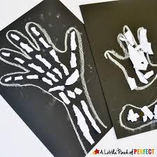 Shake Dem Halloween Bones Activities by Skeleton Bones Ripped Paper Craft For Kids