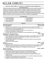 Manufacturing Operator Resume Examples Elegant Professional Production Manager Templates To Showcase Your Talent