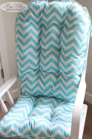 Gray Chevron Rocking Chair Cushions by Furniture Fancy Glider Rocker Replacement Cushions For Your