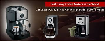 Low Price Coffee Makers