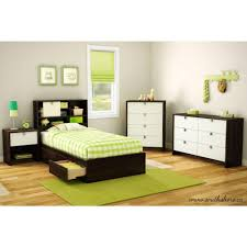 South Shore Cookie Twin Storage Bed 3471A1 The Home Depot