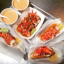100 Cousins Maine Lobster Truck Menu Bisque Lobster Tail Lobster Tacos And Lobster Rolls From