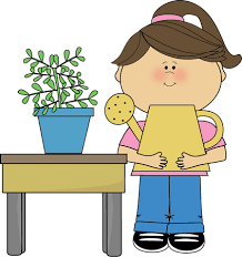 Kids Watering Plants Clipart ClipartXtras
