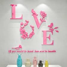 NEW Flower Removable 3D Mirror Quote Wall Sticker Decal Mural Home Room Decor