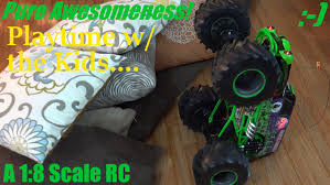 Grave Digger Monster Jam Truck Full Function Rc Indoor Playtime 18 ... Grave Digger Truck Wikiwand New Bright Rc Ff 128volt 18 Monster Jam Chrome Best Axial Smt10 4wd Truck Sale 16 Vw Transformed To Rcu Forums Toy Trucks Show Scale Playtime In Cars And Tanks At The Remote Control Racing Car For Rtr 110 Ax90055 Mayhem With Gravedigger No Limit World Finals Gizmo 143 Grave Digger Industrial Co Unboxing