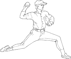 Special Baseball Coloring Pages Inspiring Design Ideas