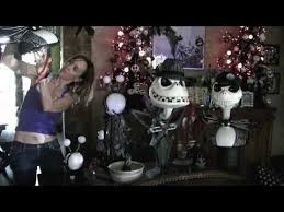 exquisite ideas nightmare before christmas house decor decorated
