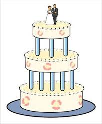 All images from collection Wedding Cake Clip Art