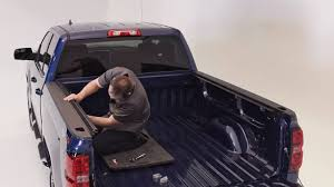 Truxedo Bed Cover by Truxedo Titanium Hard Rolling Tonneau Cover Installation Youtube