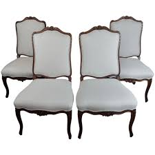 French Provincial Country Style Oversized Dining Chairs-Set Of 4 Refinished Painted Vintage 1960s Thomasville Ding Table Antique Set Of 6 Chairs French Country Kitchen Oak Of Six C Home Styles Countryside Rubbed White Chair The Awesome And Also Interesting Antique French Provincial Fniture Attractive For Eight Cane Back Ding Set Joeabrahamco Breathtaking