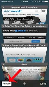 How to Turn f Private Browsing on the iPhone 5 Solve Your Tech