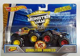 100 Team Hot Wheels Monster Truck Wheels Jam Demolition Double Toys