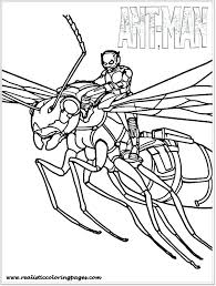 Ant Picture To Color Man Coloring Pages Avengers