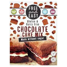 Free & Easy Sugar Free Chocolate Cake Mix – Ethica
