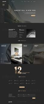 100 Interior Architecture Websites Goarch On Web Design Inspiration UI