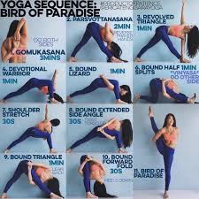 Youtube Chair Yoga Sequence by Yoga Sequence Bird Of Paradise Warm Up Sun Salutation A U0026b X5