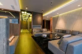 led deckenbeleuchtung wohnzimmer gelbes lichtabgehängte