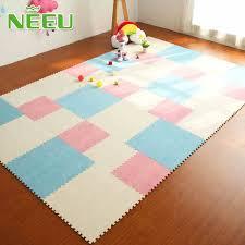 EVA Foam Interlocking Floor Tiles Exercise Gym Playmat for baby