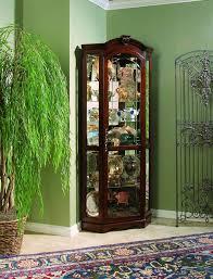 Pulaski Furniture Curio Cabinet by Amazon Com Pulaski Corner Curio 33 By 24 By 78 Inch Brown