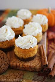 Gingersnap Pumpkin Pie Cheesecake by Mini Pumpkin Cheesecakes With Gingersnap Crusts