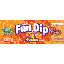 Halloween Candy Carb List by Lik M Aid Fun Dip Assorted Treat Size Halloween Candy Pouches