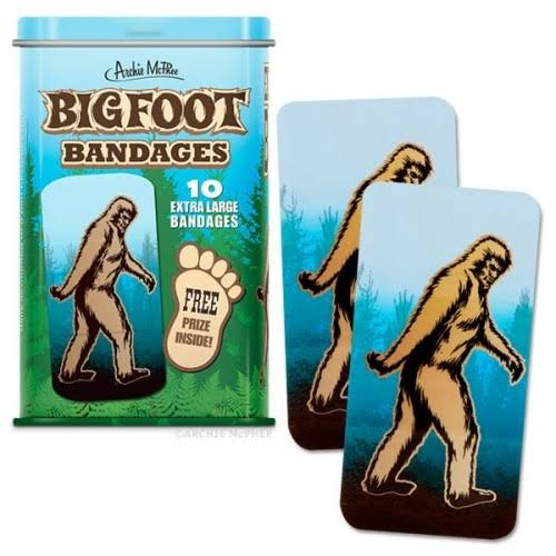 Accoutrements Bigfoot Bandages - 10ct