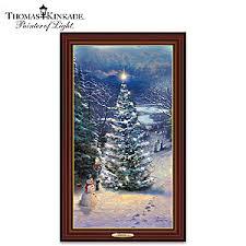 Thomas Kinkade Christmas Tree For Sale by Thomas Kinkade O Christmas Tree Illuminated Wall Decor Canvas