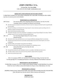 Resume Examples Top Work Objective Accounting Best Design Com Professional Template Services