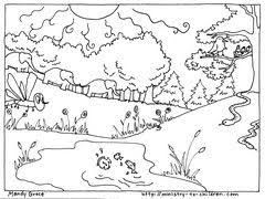 Here Are The Next Coloring Sheets About Creation From Mandy Groce These Two Illustrate Events Fifth Sixth Days Of When God Made