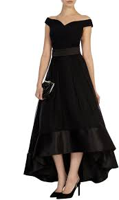 womens black rhian organza skirt from coast 139 at