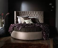 runde chesterfield luxus rund bett klassische hotel samt textil leder betten neu