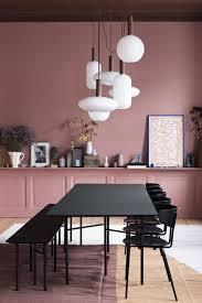 rosé mit schwarz kombiniert dänische farbkombination für