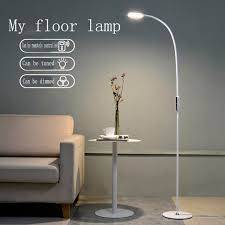 led floor l 9w 5 level brightness touch switch modern