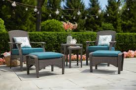 King Soopers Patio Table by Hampton Bay 6 Pc Wicker Conversation Patio Set Only 349 30 At