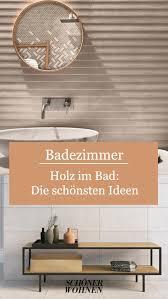 spiegel mit holzrahmen fürs bad badezimmer gestalten